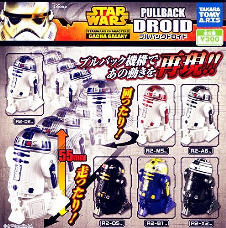 Capsule Star Wars Droid Pullback ganze Reihe von 6