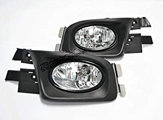 RP Remarkable Power, FL7052 Fit For 2003-2005 Accord 4Dr Clear Fog Light Kit