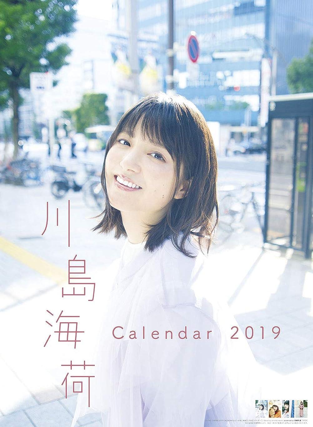 明らかに有限始まりトライエックス 川島海荷 2019年 カレンダー CL-765 壁掛け B2
