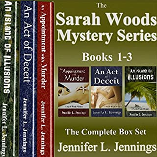 Sarah Woods Mystery Series: Books 1-3 audiobook cover art