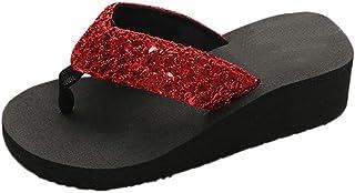 comprar comparacion Yesmile Sandalias para Mujer Zapatos Casual de Mujer Sandalias de Verano para Fiesta y Boda Sandalias Antideslizantes de V...