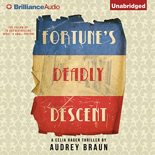Fortune's Deadly Descent audiobook cover art