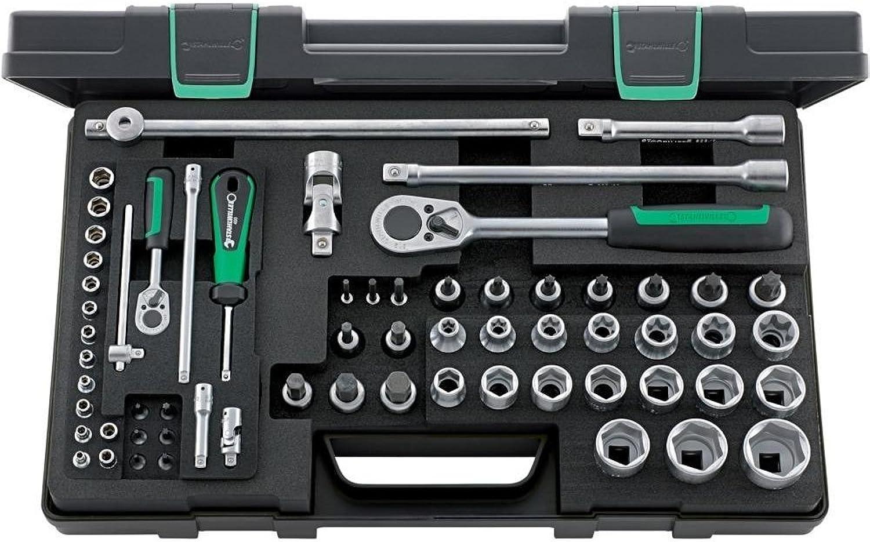 Stahlwille 96013702 Torx-Garnitur 63-teilig im robusten, stapelbaren ABS-Kunststoffkasten B01FC5JM9M   Guter Markt