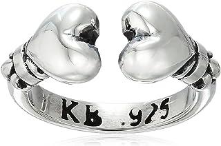 King Baby Heartbreaker 开口心形戒指,尺寸 3