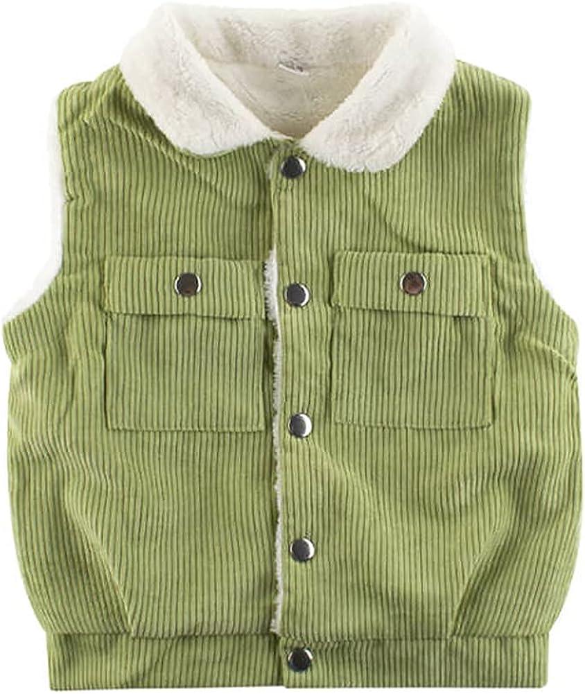 IWEMEK Max 73% OFF Toddler Baby Girls gift Boys Warm Waistcoat Winter Vest Fleece