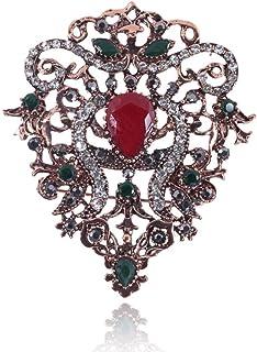 胸针,领针,丝巾扣,レトロファッションオールマッチブローチコートアクセサリー