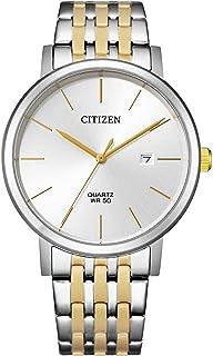 Citizen Men's BI5074-56A Quartz Analog Stainless Steel, Silver