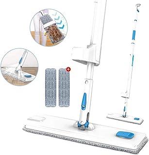 Mopa con Pulverizador Fregona con Limpiar Automático Mopa con 1Paño de Microfibra 360° Giratoria para Limpia Seca y Húmeda para Suelos Laminados, Azulejo y de Madera
