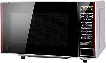 Horno De Microondas Independiente Digital Negro 20L 700W, Reloj Y Temporizador Digitales / 12 Menús De Cocción Preestablecidos/Descongelación Automática, Fácil De Limpiar