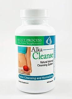 Alka-Cleanse (2 Pack) Intestine & Bowel Cleanse | Psyllium, Probiotics, Digestive Enzymes, Herbs & Antioxidants | Regulari...