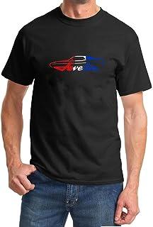 1971-74 AMC Javelin Classic Color Outline Design Tshirt