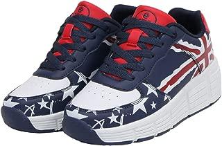 Kids Roller Skates Shoes Girls Boys Roller Shoes Wheel Shoes Roller Sneakers Shoes with Wheels LED & Non-LED