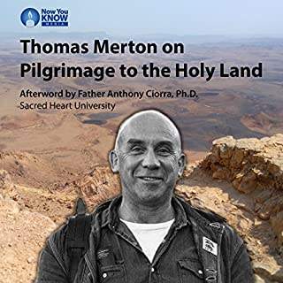 Thomas Merton on Pilgrimage to the Holy Land cover art