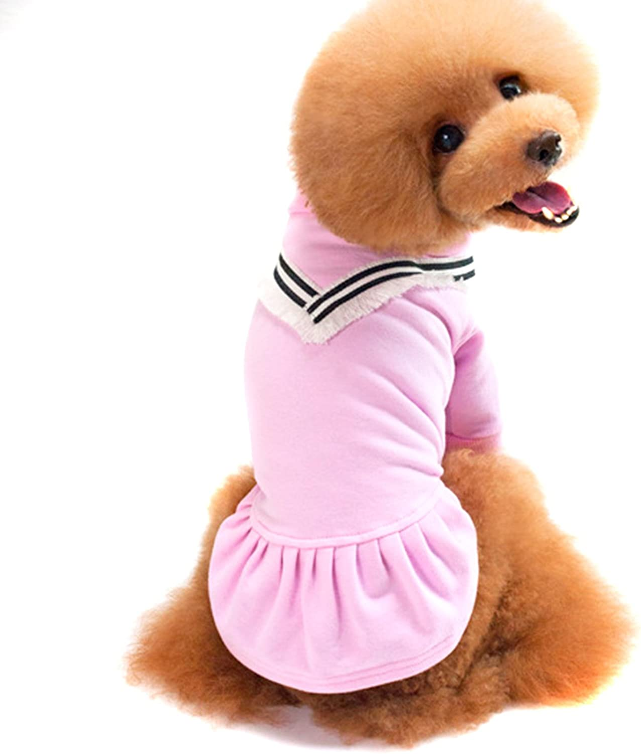 Alfie Pet by Petoga Couture  Shea Classic Dress  color  Pink, Size  Small