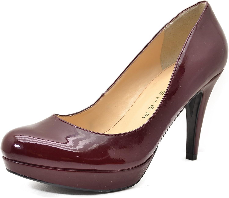 Marc Fisher shoes, Sydney Pumps Dark Red 5.5 m