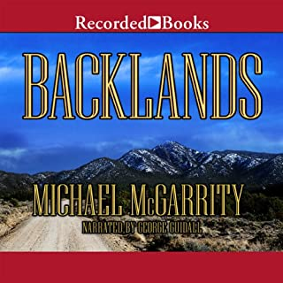 Backlands audiobook cover art