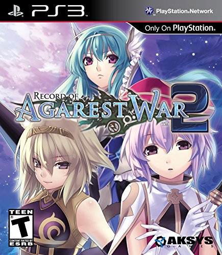 Record of Agarest War 2 - Playstation 3 (Certified Refurbished)