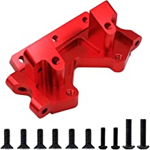 Red-Anodized Aluminum Front Bulkhead Mount Plate Upgrade 2530A for 1/10 RC Traxxas Slash 2WD Trucks