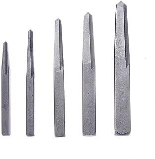RMISODO 5 Pieces Screw Extractor Kit Straight Flute Screw Extractor Remover Set