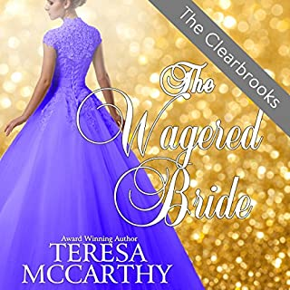 The Wagered Bride audiobook cover art