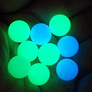 6mm Quartz Pearl Balls Quartz Beads Balls UV Reactive terp Pearls 16 Pieces (4 pcsYellow-Green+4 pcsTransparent+4 pcsBlue-...