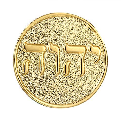 Tetragrammaton Lapel Pin Gold