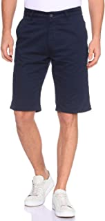 DeFacto Side-Pocket Zip Up and Button Closure Cotton Chino Shorts for Men