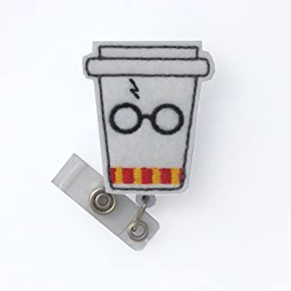 Wizard Coffee Badge Reel (Swivel Clip)