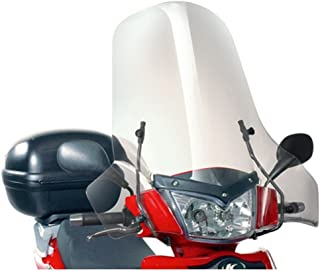 Specific Windscreen Clear 64x 71cm (H x L) Attacks Excluded Kappa 137A Kymco People S 50–125–200(05> 13)