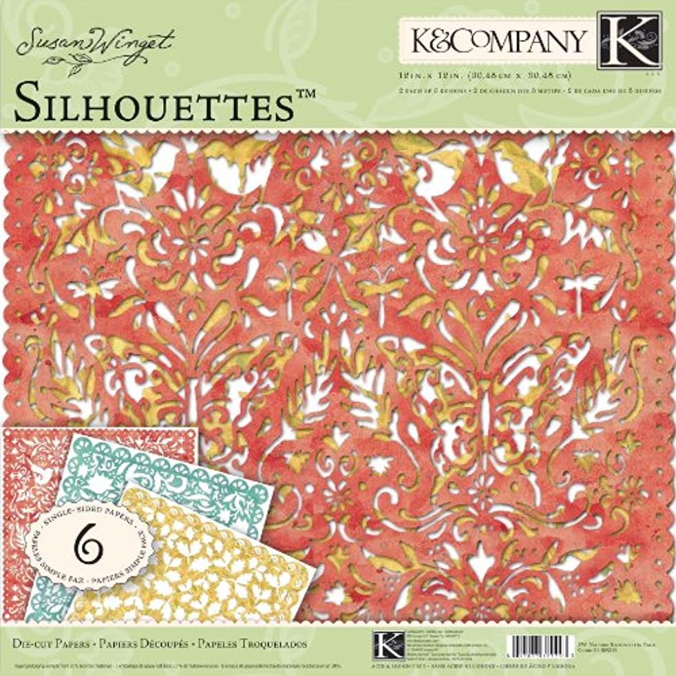 K&Company Susan Winget Nature Silhouettes, 12-by-12-Inch