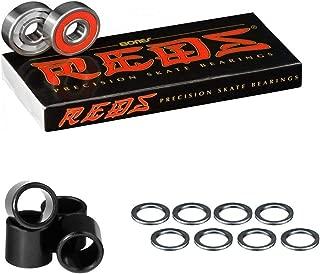 Bones Bearings Reds Bearings (8 pack W/Spacers and Washers)