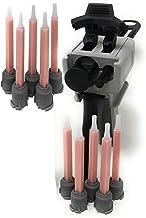 Ber-Fix® Doseerpistoolset met 10 stuks Quadro mengmondstuk voor 50 ml dubbele patronen 1:1 voor 2 componenten lijm patrone...