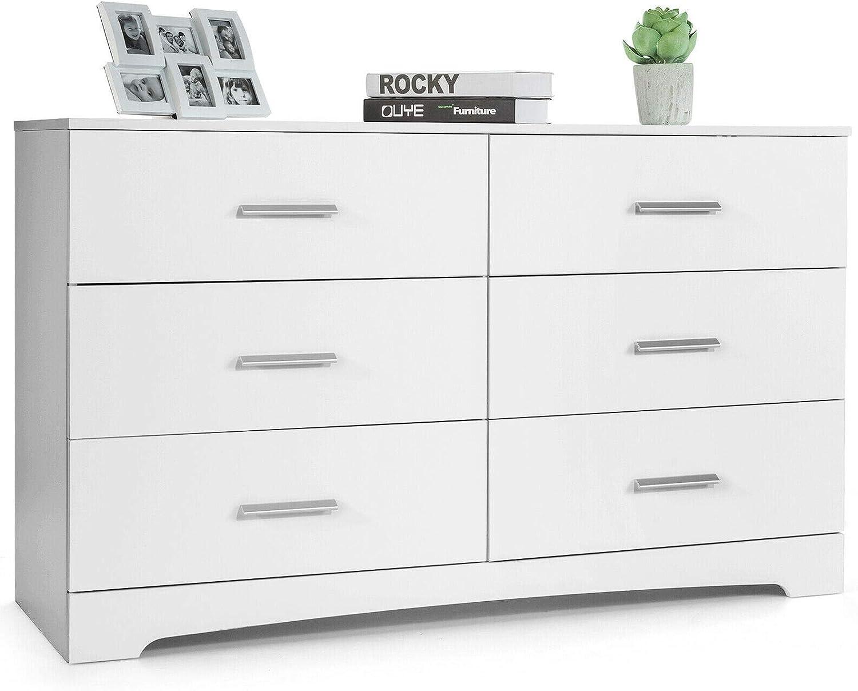 Modern Store Design Double Dresser Chest Drawer Storage Very popular 6 Stur Cabinet