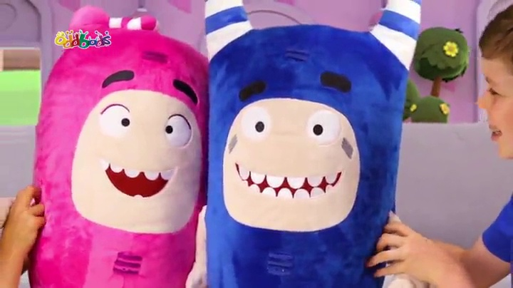 ODDBODS Buddies Newt 24 Interacts with Other Buddies One Animation