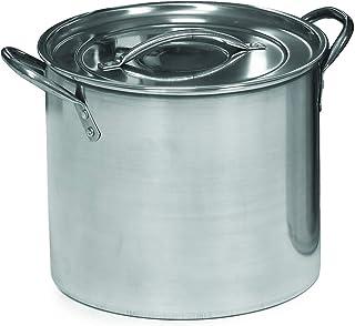 IMUSA USA - Cacerola de acero inoxidable, 7.5 l, 1