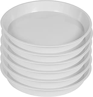 Angde 6 Pack of Plant Saucer 15 Inch (13 Inch