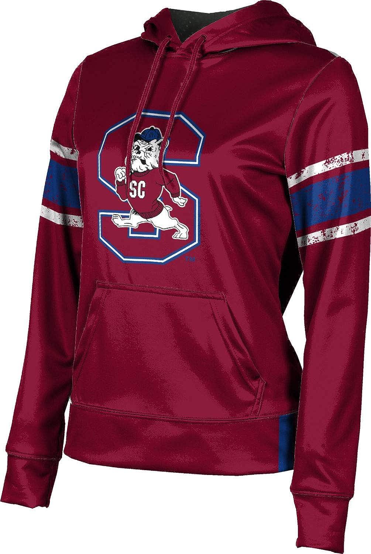 South Carolina State University Girls' Pullover Hoodie, School Spirit Sweatshirt (End Zone)