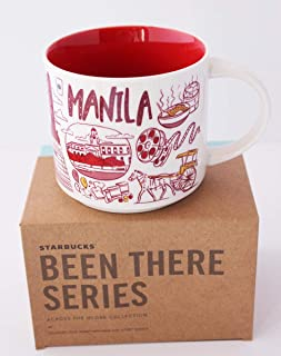 Starbucks Manila Been There Series Across the Globe Collection Ceramic Coffee Mug 14 oz.
