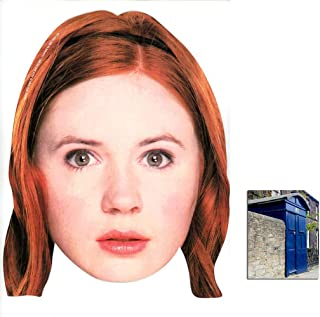 All Our Masks Are Pre-Cut! Karen Gillan Amy Pond Dr Who Celebrity Card Mask