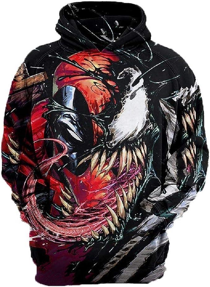 Venom Symbiote 3D Printed Pullover Hoodie Sweatshirt Available in ...