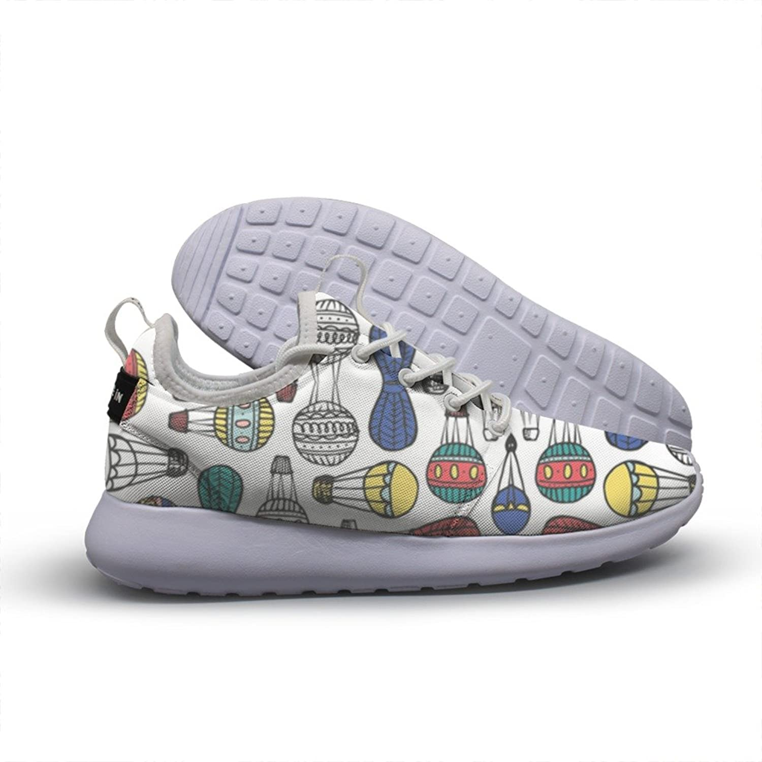 RTwkvv Beautiful Hot Air Balloon Pattern Women's Running shoes Fashion Breathable Sneakers Soft Casual Athletic Lightweight