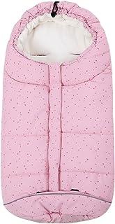 Bebé Saco de Dormir 3 Tog, Mantas Envolventes Invierno para Cochecito 0-6 Meses, Estrella Rosa