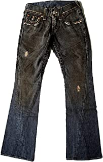 New Men's Vintage Flare Denim Jeans - Joey Medium - Black Vintage