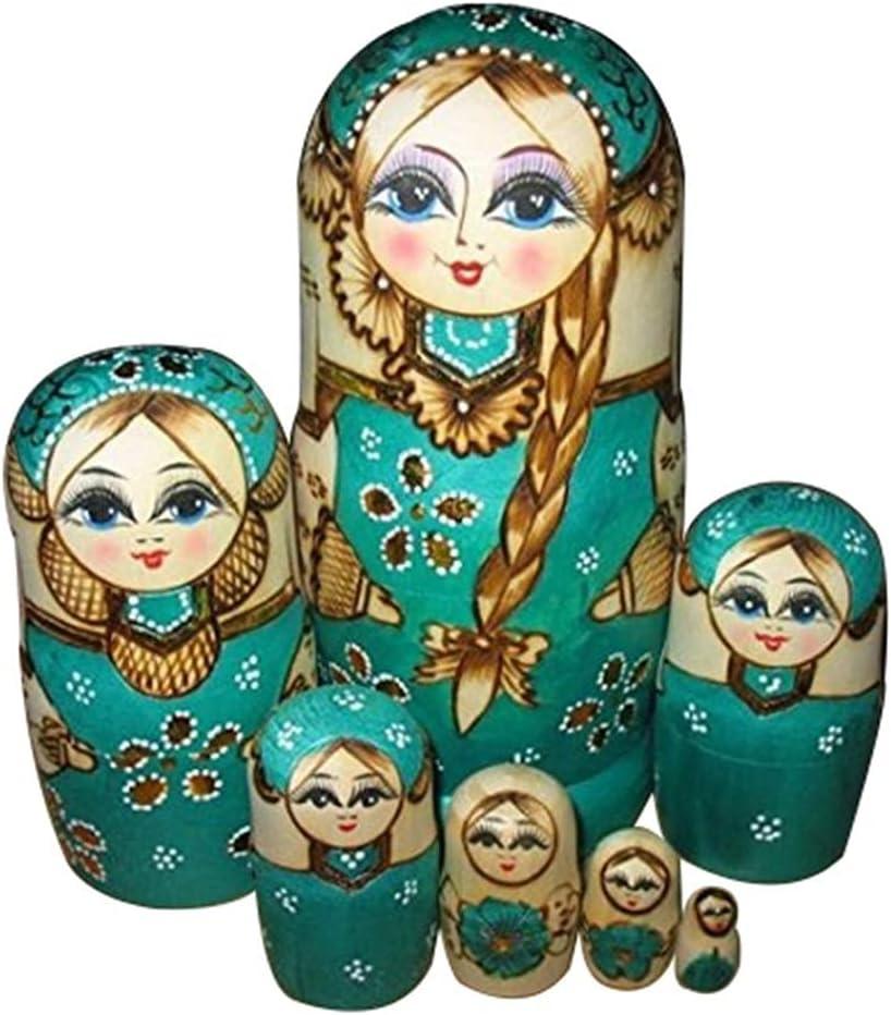 XIAOLI Matryoshka Decoration Wooden Sacramento Luxury goods Mall Toys Girls Dolls