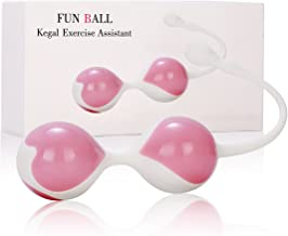 wote Kegel Ball for Women Tightening Medical Silicone Waterproof Ben Wa Kegel Exercise Bladder Control Device