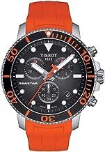 Tissot Seastar 1000 Chronograph Quartz Black Dial Men's Watch T120.417.17.051.01