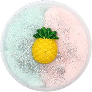 Hot Sale!DEESEE(TM)🌸🌸50G Colorful Strawberry Mixing Cloud Cotton Candy Slime Scented Stress Kids Clay Toy (I)