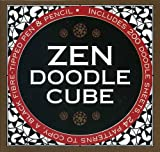 Zen Doodle Cube: Includes 200 Doodle Sheets, 24 Patterns to Copy, a Black Fibre-Tipped Pen & Pencil