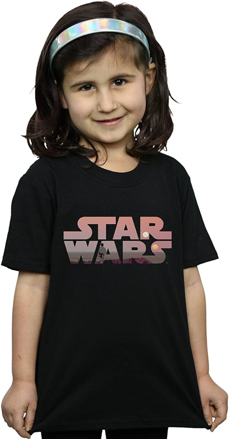 Star Wars Girls Tatooine Logo T-Shirt