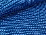 Albstoffe Hamburger Liebe Weekender Big Knit Bluette-Blue